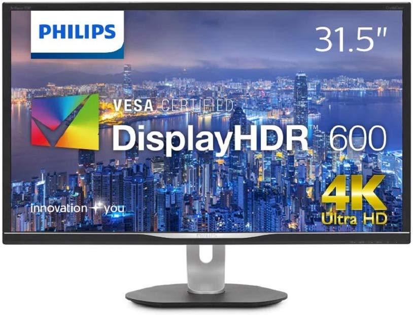 PHILIPS モニター ディスプレイ 328P6VUBREB/11 (31.5インチ/「Display HDR 600」認証/HDMI/USB Type-C/4K/