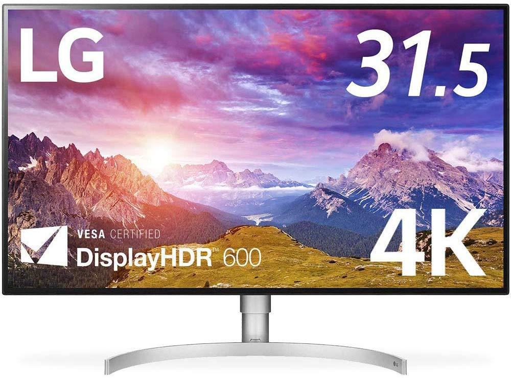 G モニター ディスプレイ 32UL950-W 31.5インチ/4K/DisplayHDR600/Nano IPS/Thunderbolt3×2、HDMI、DP/スピーカー/ピボット、高さ調節